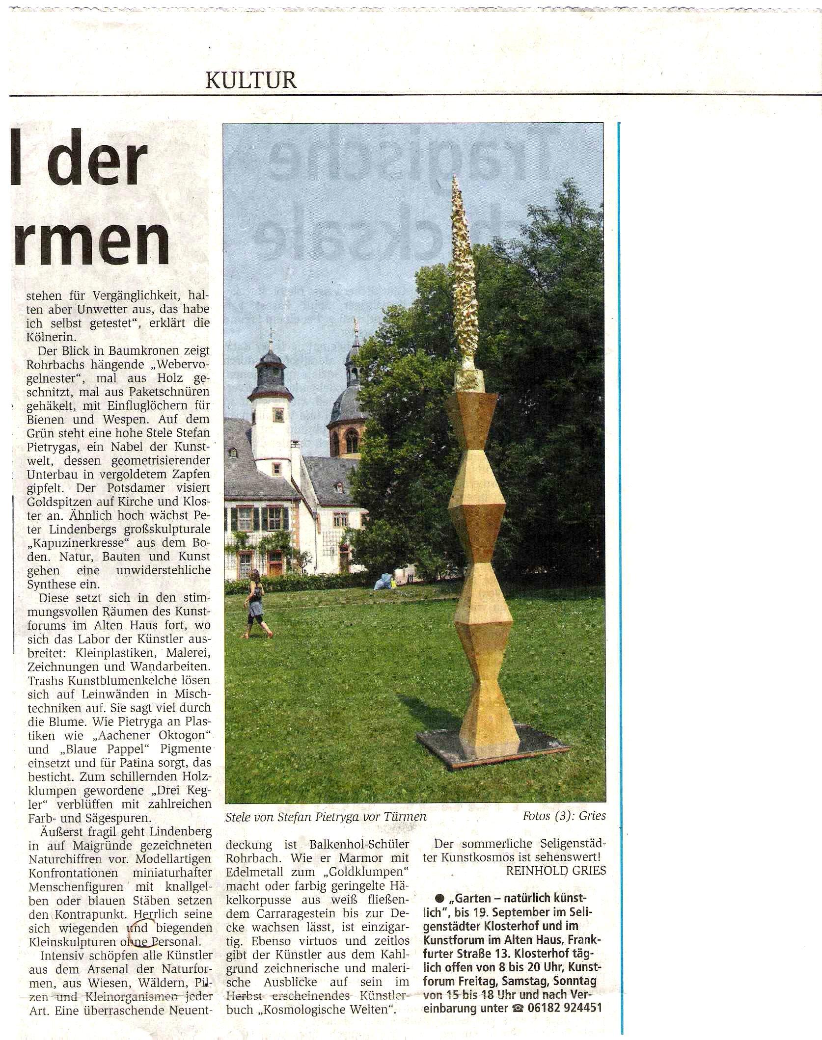 Artikel II Offenbach Post 6.7.2010