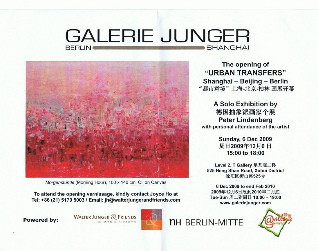 Ausstellung shanghai  2009